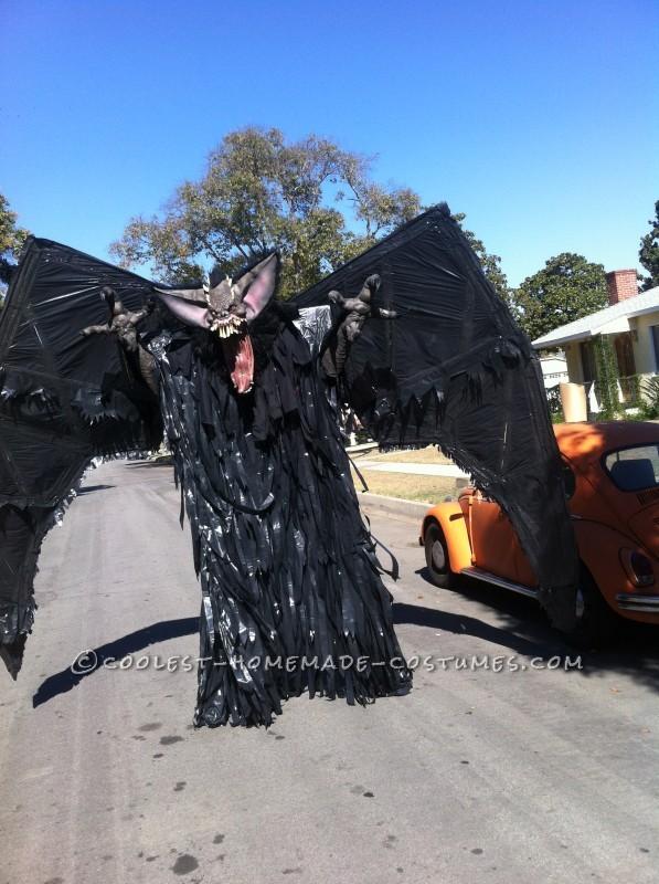 "10-Foot ""Screech"" Bat Halloween Costume on Stilts - 2"