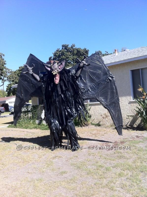 "10-Foot ""Screech"" Bat Halloween Costume on Stilts - 5"