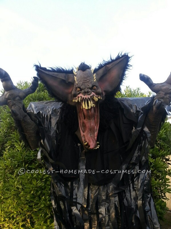 "10-Foot ""Screech"" Bat Halloween Costume on Stilts - 6"