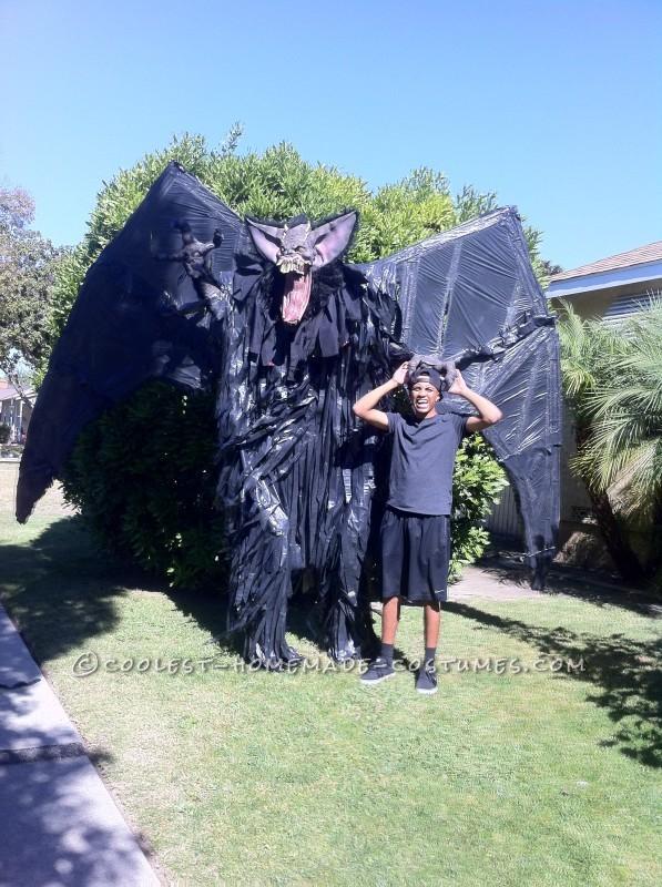 "10-Foot ""Screech"" Bat Halloween Costume on Stilts - 7"