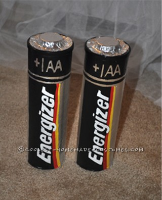 The batteries made from Pringles cans