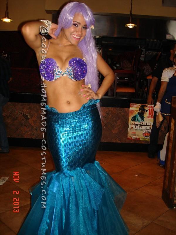 Sexy DIY Mermaid Costume - 2
