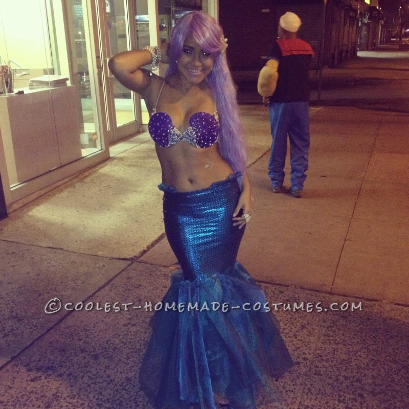 Sexy DIY Mermaid Costume - 4
