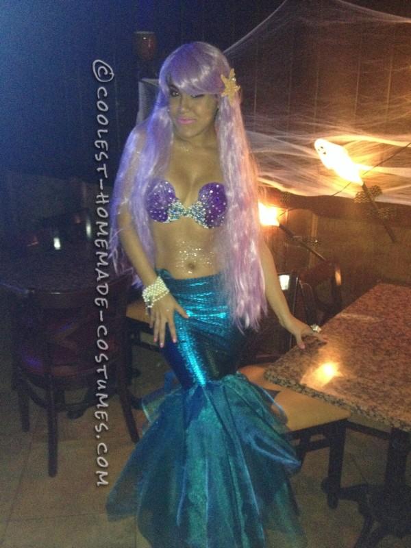 Sexy DIY Mermaid Costume - 5