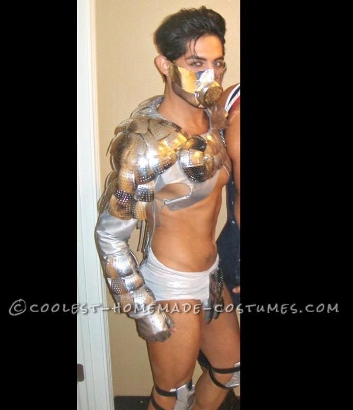 Sexy Metallic Underworld God Costume for a Man - 1