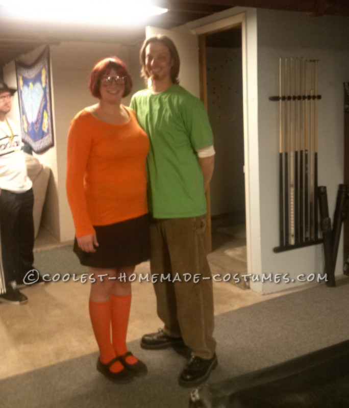 Shaggy and Velma Couple Costume