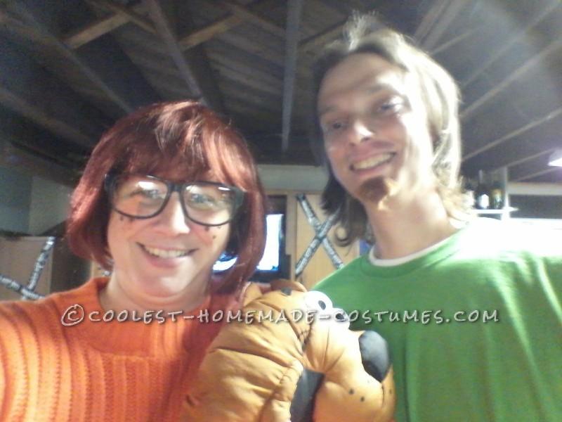 Shaggy and Velma Couple Costume - 1