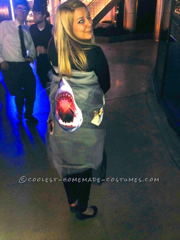 Inexpensive DIY Costume Idea: Sharknado Coming Through!