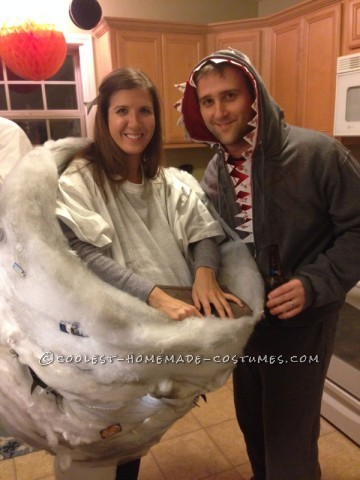 Sharknado and Killer Shark Couple's Costume