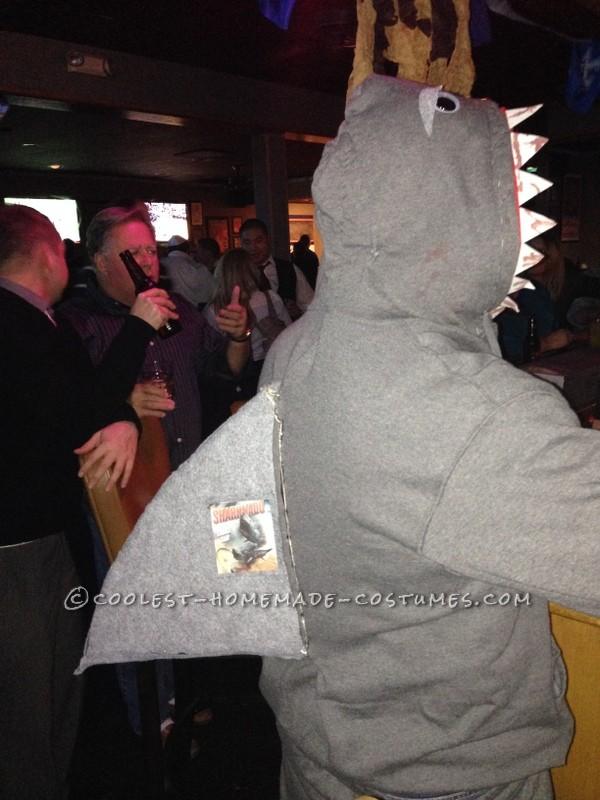 Sharknado and Killer Shark Couple's Costume - 3