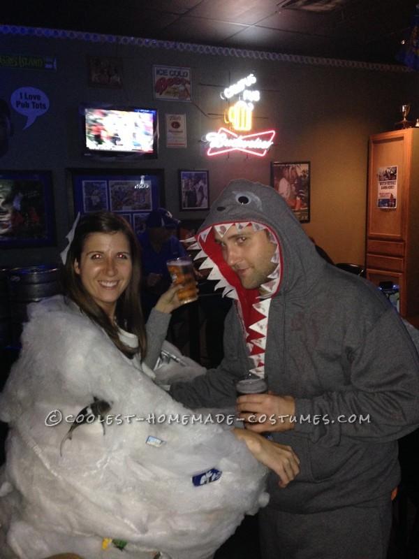 Sharknado and Killer Shark Couple's Costume - 2