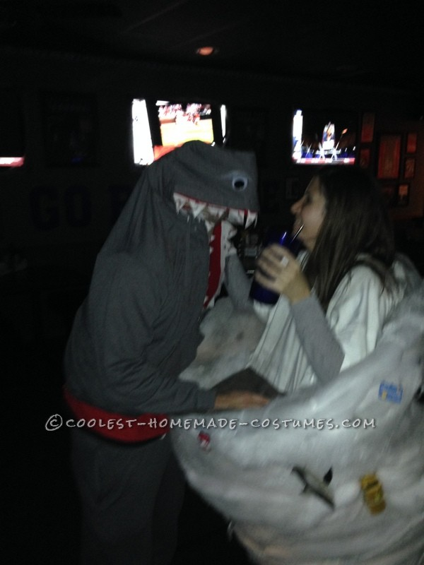Sharknado and Killer Shark Couple's Costume - 4