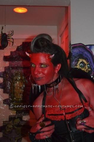 Homemade She-Devil Costume