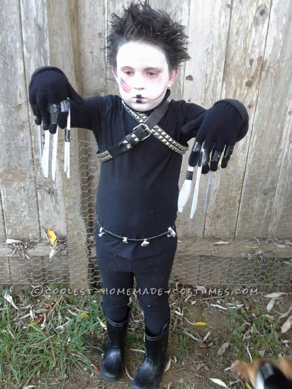Dash as Edward Scissorhands