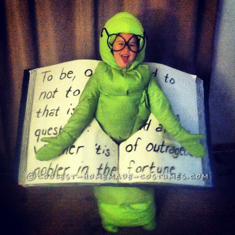 Smartest Bookworm Costume Ever!