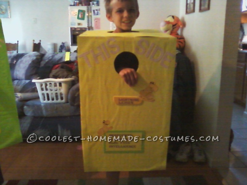 Cool DIY Sour Nerds Costume for Twin Boys