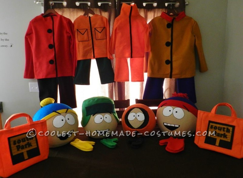 Cool Homemade South Park Family Costumes - 1