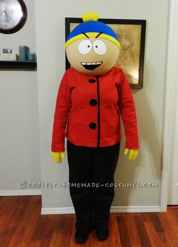 Mom as Eric Cartman