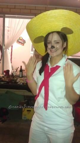 Homemade Speedy Gonzalez Costume