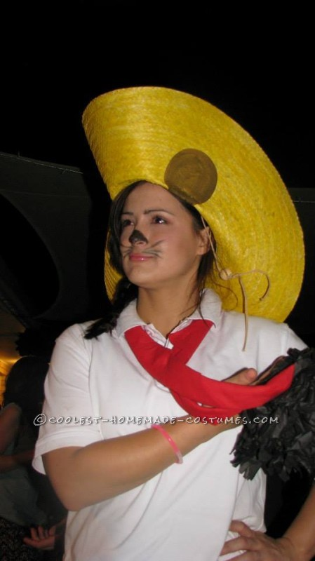 Homemade Speedy Gonzalez Costume
