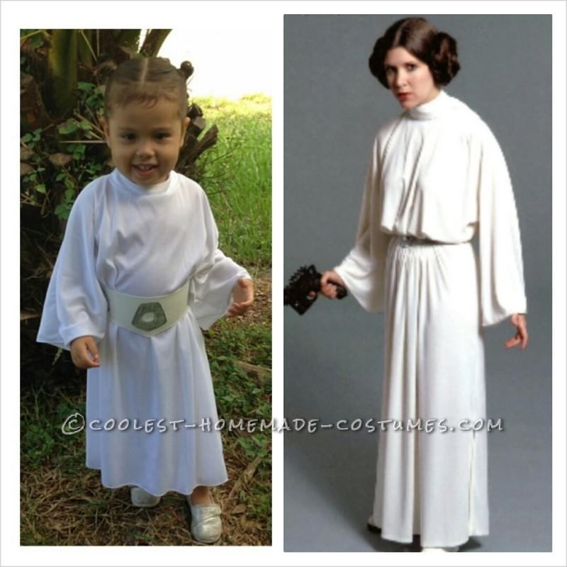 Homemade Star Wars Family Costumes