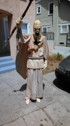 Cool Hand-Sewn Star Wars Tusken Raider Costume