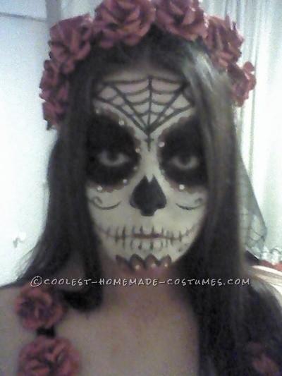 Sugar Skull Day Of The Dead Costume - 2