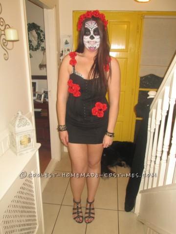 Sugar Skull Day Of The Dead Costume