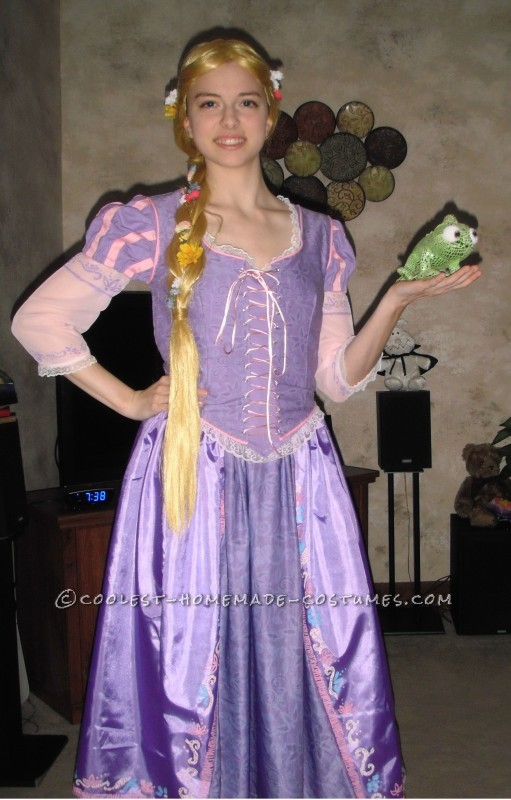Coolest Homemade Rapunzel Tangled Costumes