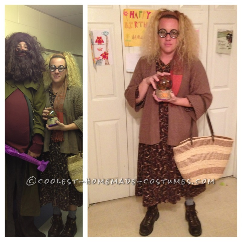 Coolest Homemade Sybill Trelawney Costume from Harry Potter