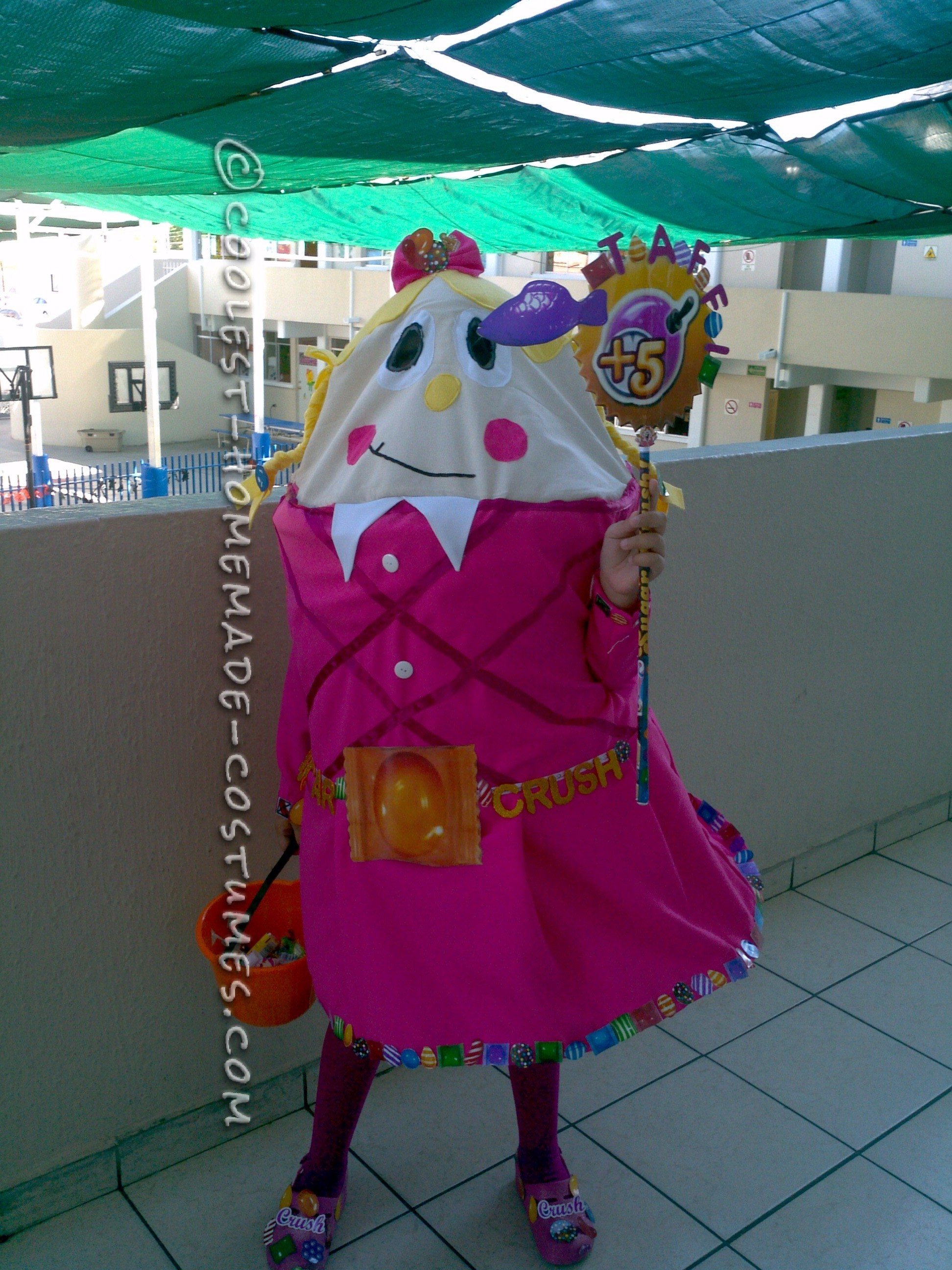 Cool Taffy from Candy Crush Costume