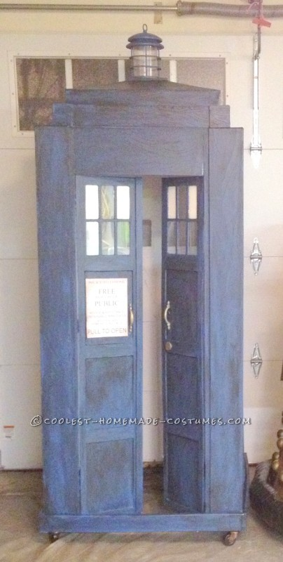 Coolest Homemade Doctor Who and TARDIS Costume - 11