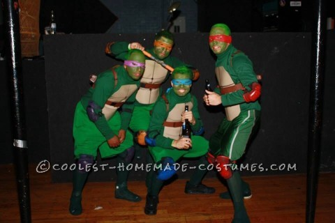 Teenage Mutant Ninja Turtles Guys Group Costume