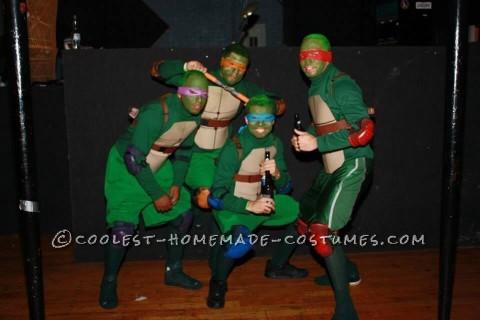 Teenage Mutant Ninja Turtles Guys Group Costume