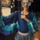 Pretty Blue Bird Costume for a Teen Girl
