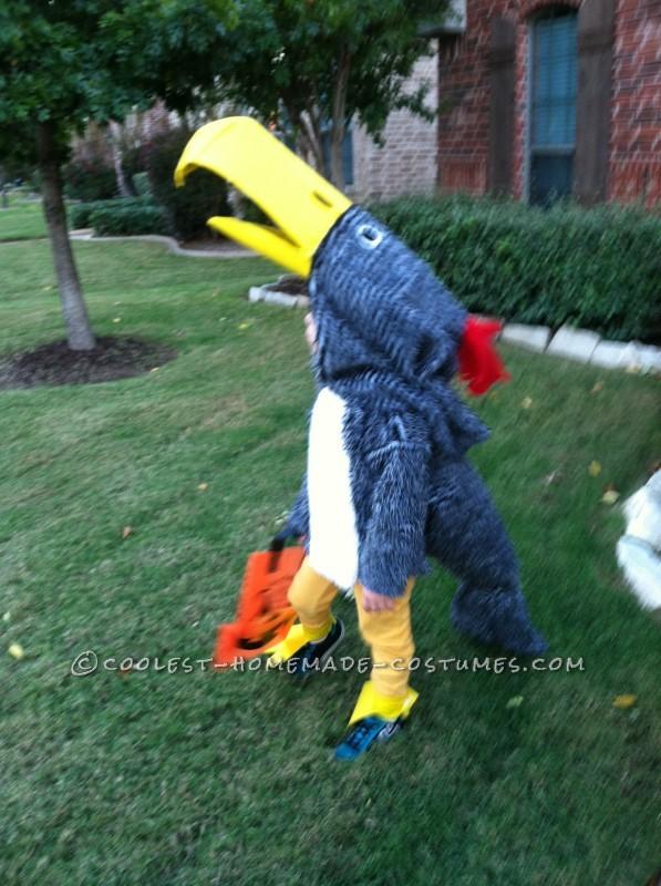 Terrific (and Troublesome!) Terror Bird Costume