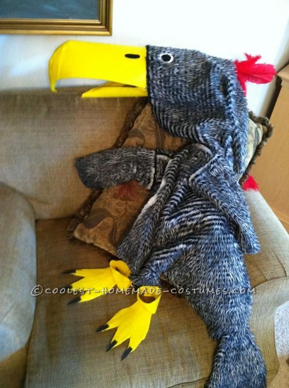Terror Bird Costume Parts