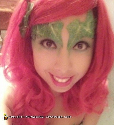 DIY Poison Ivy Halloween Costume