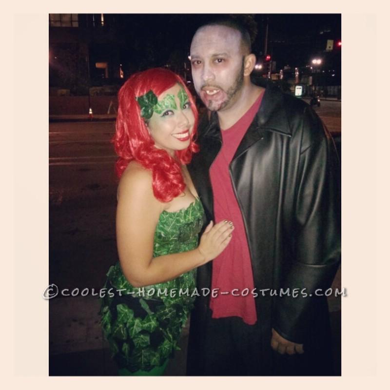 DIY Poison Ivy Halloween Costume