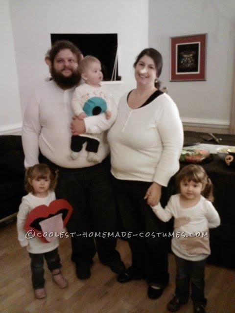 Unique Family Halloween Costume Idea: The Five Senses