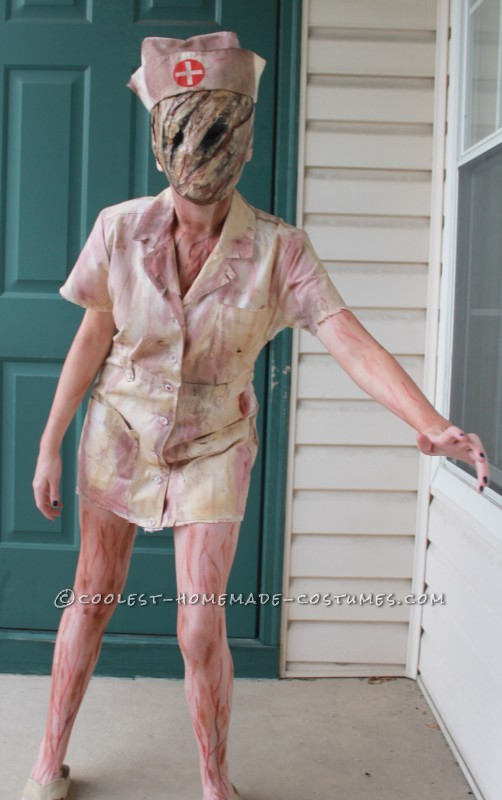 The Absolutely Scariest Silent Hill Costume for a 13-Year Old Girl - 2