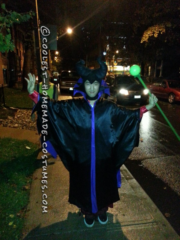 Cool DIY Maleficent Costume for a Man - 1