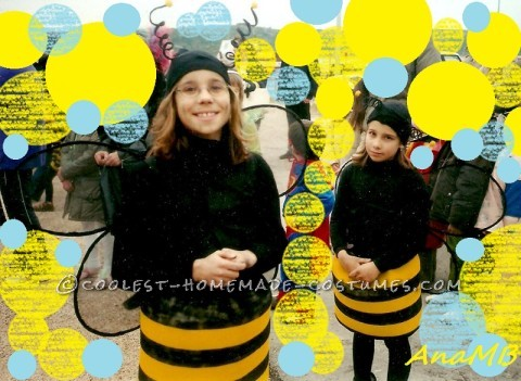 Handmade Family of Bees Costumes