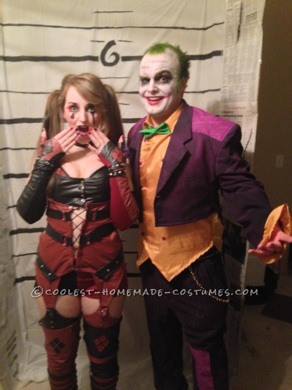 Harley and the Joker were caught!