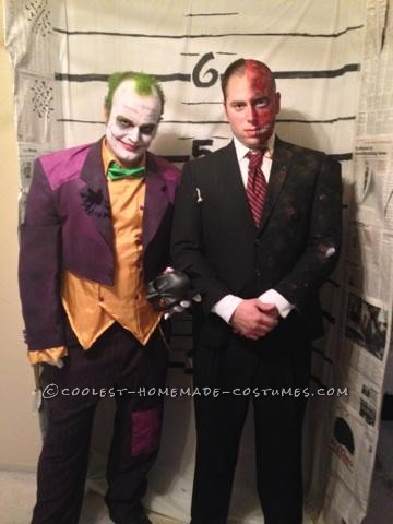 The Joker and Two Face