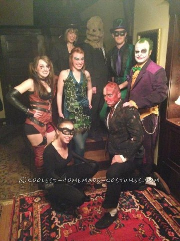 The Best Batman Villains Group Costume You Will Ever See