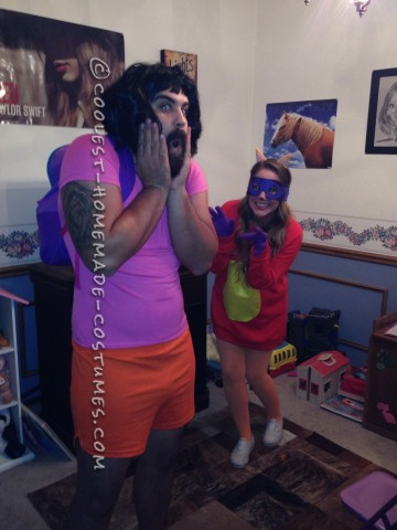 Best Dora the Explorer and Swiper the Fox Adult Couple Costumes