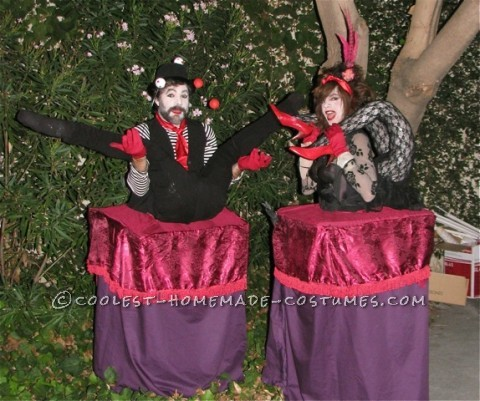 Cool Halloween Illusion Costumes: The Contortionists