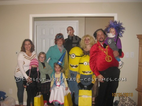 Coolest Despicable Me Family Costume