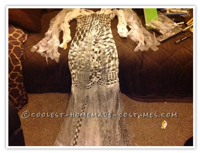 Coolest Homemade Artistic Zentangle Obsessed Costume